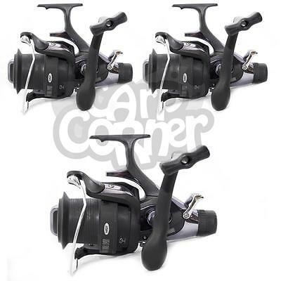 3 x Large NGT XS9000 Carp Runner Big Pit  Long Cast Fishing Reels Spare Spools