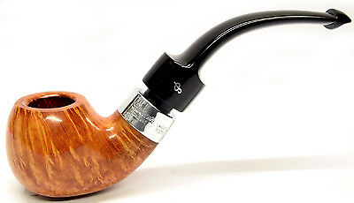 Peterson Deluxe System Sterling Silver Mounted Pipe with Free Pipe Tool 2s