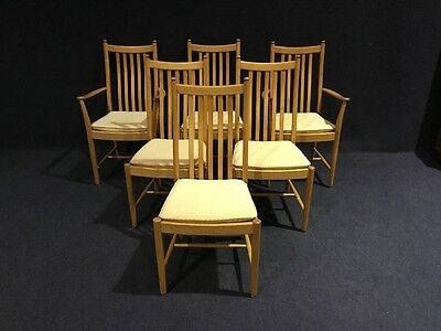 Set Of 6 Ercol Dining Chairs Modern Ercol Chairs Top Uk Maker