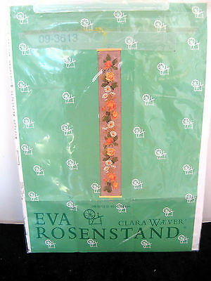 CLARA WAEVER / EVA ROSENSTAND COUNTED CROSS STITCH w/ ROSES, PATTERN ONLY!