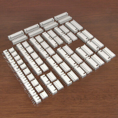 Connector Starter Pack Kit - XH 2.5mm JST Type White Housings Headers and Crimps