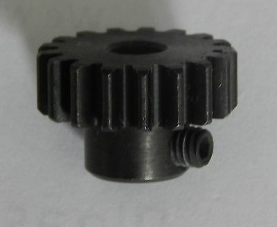 19T Mod1 Pinion Gear Hardened Steel M1 (5mm Shaft)