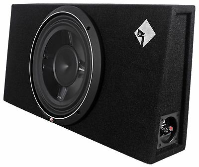 "Rockford Fosgate P3S-1X12 P3 12"" 800W 1-Ohm Loaded Car/Truck Subwoofer+Sub Box"