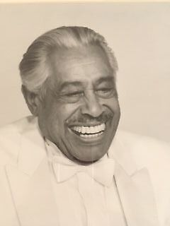 jazz memorabilia- original signed photo of Cab Calloway