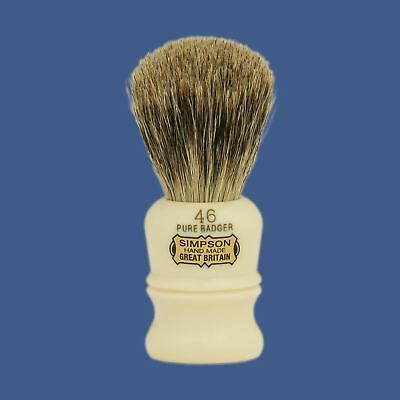 "Simpsons ""The Berkeley"" No 46 Shaving Brush - Pure Badger"