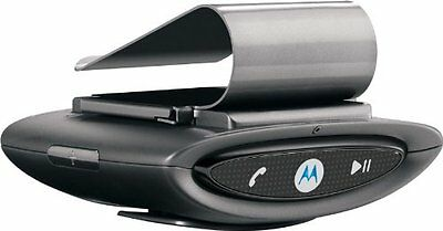 Motorola T505 SYN1717A Bluetooth Portable In-Car Speakerphone with Visor Clip