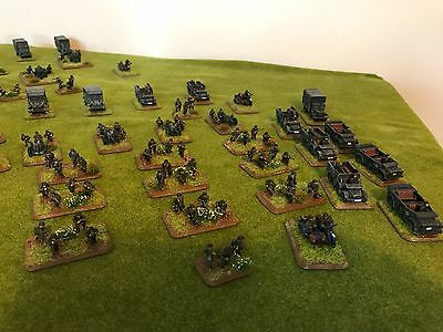 Early/Mid World War 2 German Infantry Company Flames of War Well Painted