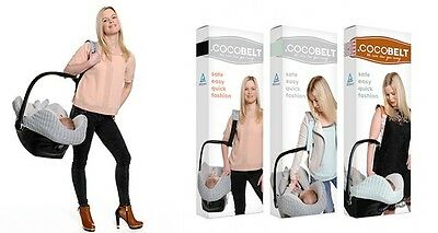 Cocobelt Car Seat Carrier Safely And Comfortably Carry Your Baby Car Seat Around