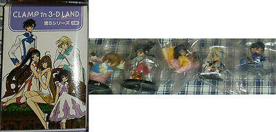 CLAMP in 3-D LAND vol.5 volume 5 3D 5 figure collection set complete tsubasa