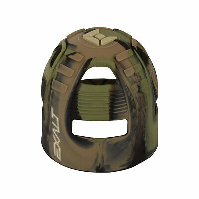 Exalt Tank Grip - Fits All HPA Tanks - Jungle Camo Swirl - Paintball