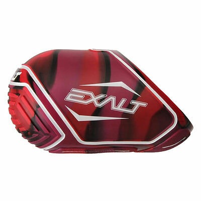 Exalt Tank Cover - Small Fits 45/50ci - Red Swirl - Paintball