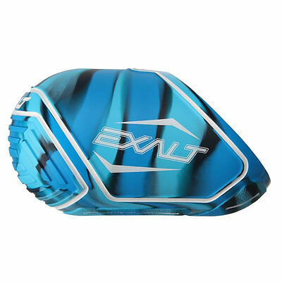 Exalt Tank Cover - Small Fits 45/50ci - Blue Swirl - Paintball