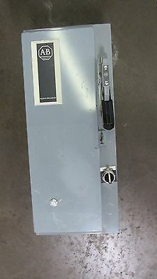 Allen Bradley 512-Bacd-24 Size 1 Combination Starter Disconnect 3Ph 509-Bod