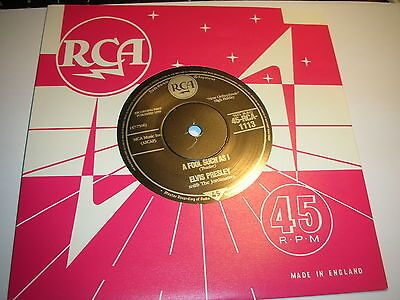 Elvis Presley - A Fool Such As I / I Need Your Love Tonight....mint/unplayed