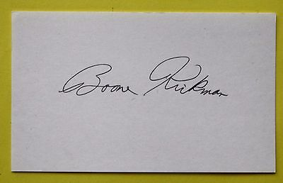 Boxing: Boone Kirkman Autographed Card