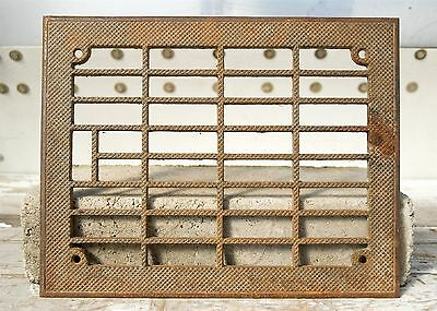 Antique/Vintage Building Salvage Cast Iron Metal Heating Grate/Vent Cover
