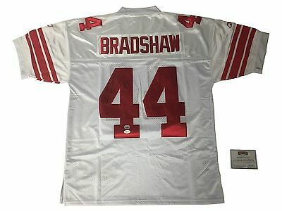 Ahmad Bradshaw Signed New York Giants Jersey with Super Bowl Patch (With COA)
