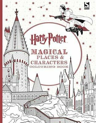 Harry Potter Magical Places and Characters Colouring Book 3 by Brothers, Warner