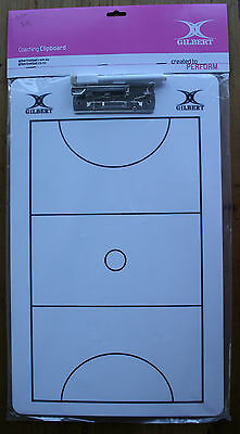 Gilbert netball coaching clipboard