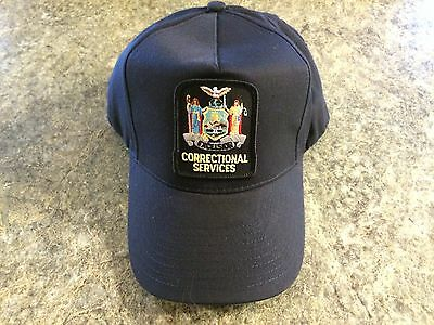 New York State Corrections Prison Guard Baseball Cap Hat   New !!!!