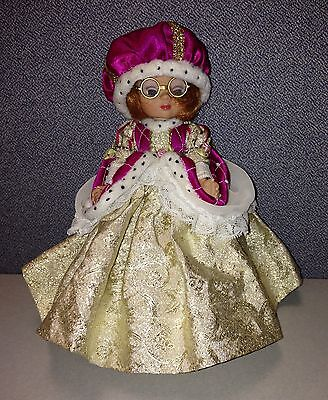 "Tiny Ann Estelle Once Upon A Time 8"" Doll QUEEN Tonner Engelbreit Stand Ltd 2000"
