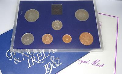 ***1982 Royal Mint The Coinage Of Great Britain & Northern Ireland **