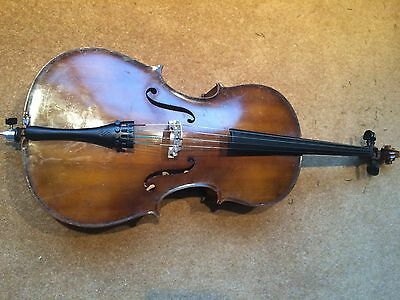 1/2 size Boosey & Hawkes cello with carbon fibre bow and soft case