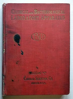 Rare 1922 CENCO Chemical, Bacterological and Laboratory Apparatus Catalog!