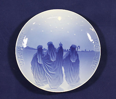 1901 Bing and Grondahl Christmas plate 'Three Wise Men from the East'