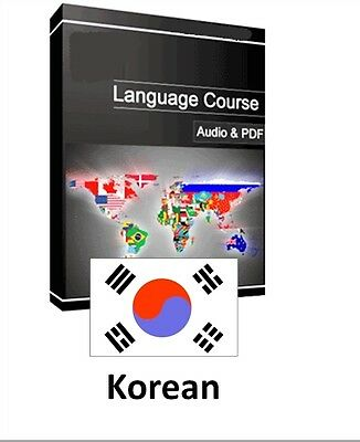 Learn to Speak Korean - Teach Yourself Language Course on PC CD/DVD