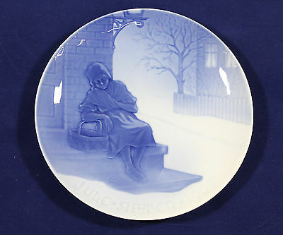 1907 Bing and Grondahl Christmas plate The Little Match Girl