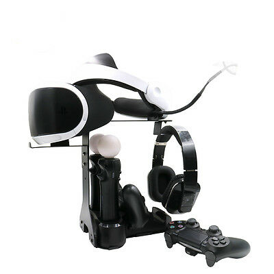Playstation 4 VR Showcase Rapid AC PS4 VR Move Motion Charge & Display Stand