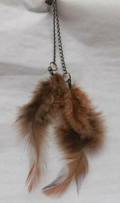 Feather Hair Extension Clip
