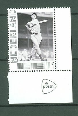 BB 010 Netherlands Baseball Ted Williams (PostNL Limited edition) MNH