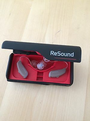 Pair Of iPhone Compatible Resound Linx 561 Digital Hearing Aids.