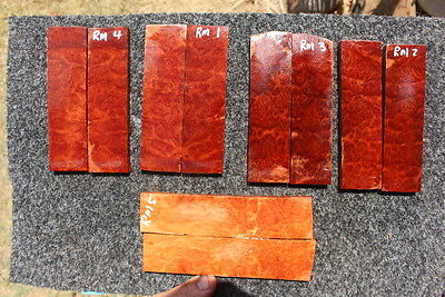 Red MalleeBookmatched Scales 1-5