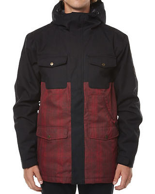 NEW Quiksilver Reply Jacket Snow Ski Snowboard Winter