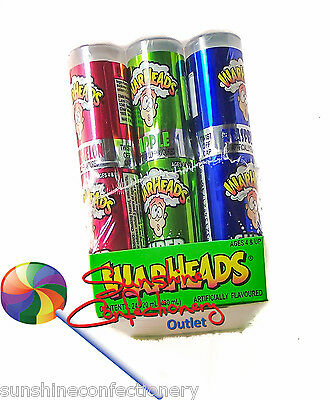 WARHEADS SPRAY -  Extreme Sour -24 X 20ml (480ml) Sour Candies Lollies Sweets