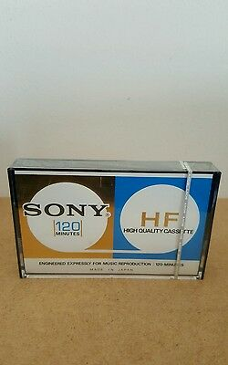 SONY C-120HF : 1970's : MADE IN JAPAN : NEW & SEALED