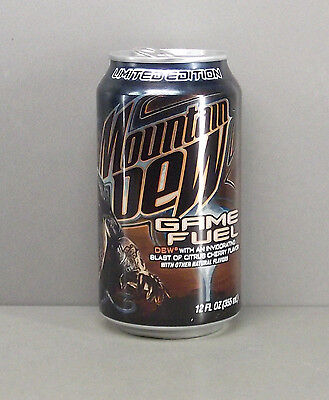 Mountain Dew Empty 12oz. Soda / Pop Can - Limited Edition Game Fuel