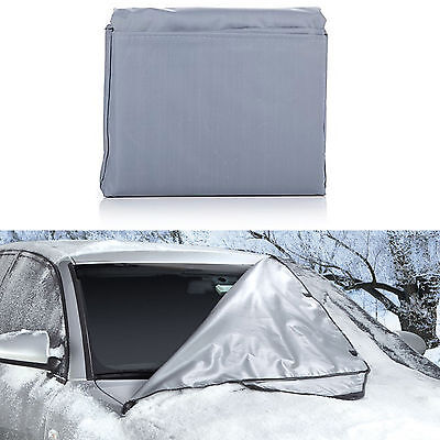 "Windshield Wrap Snow Cover - All Weather Car Protection - Magnetic, 66"" x 41.5"""
