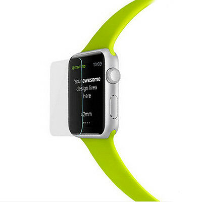 Premium Tempered Glass Screen Film Protector For Apple Watch iwatch 38mm/42mm