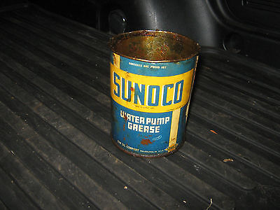 Sunoco Water Pump Grease Can missing top