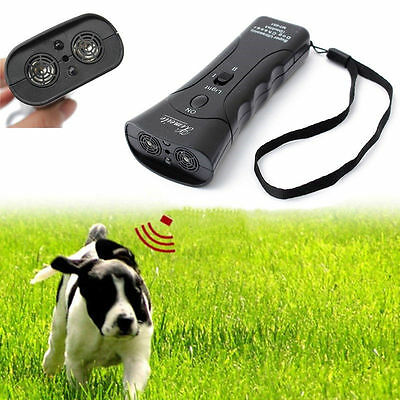 Newest Ultrasonic Dog Chaser Stop Aggressive Animal Attacks Protection