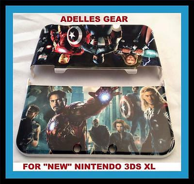 "Hard Protective Case Cover For ""new"" Nintendo 3 Ds Xl- Ironman Superhero Design"