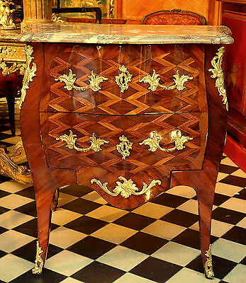 KOMMODE BAROCK FRANKREICH LOUIS XV 1765 GEST. COSSON commode