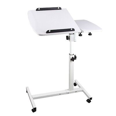 Portable Laptop Desk Stand Adjustable Notebook Computer PC Table Tray Bed #AU