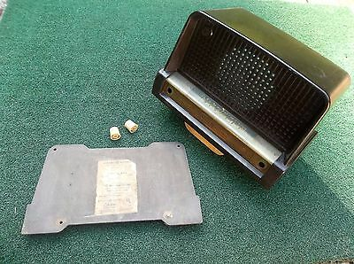Vintage General Electric Radio Cabinet/shell, Bakelite, W/ Knobs & Rear Cover