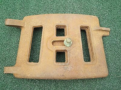 Antique Cast Iron Stove Door, Vented And The Vent Is Cool, Rounded Pot Belly