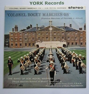 BAND OF HM ROYAL MARINES - Colonel Bogey Marches On - Ex LP Record HMV CSD 1282